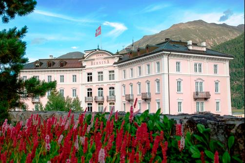 Hotel Bernina 1865 - Samedan - Outdoors view