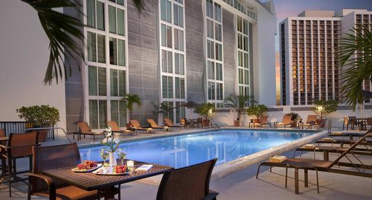 Courtyard by Marriott Miami Downtown Brickell Area - Miami - Pool