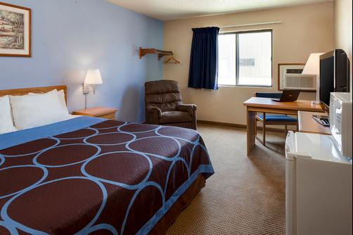 Super 8 Portage - Portage - King bedroom