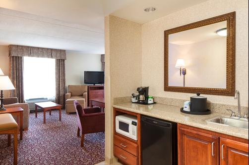 Hampton Inn Dubuque - Dubuque - Living room