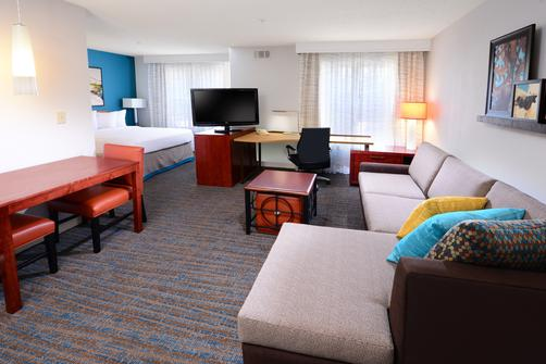 Residence Inn by Marriott Dallas Plano - Plano - Bedroom