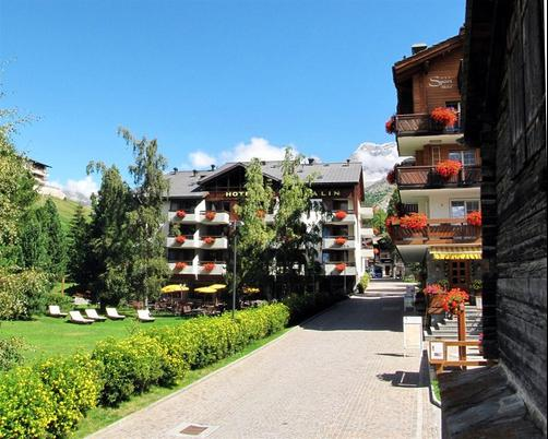 Hotel Allalin - Saas Fee - Building
