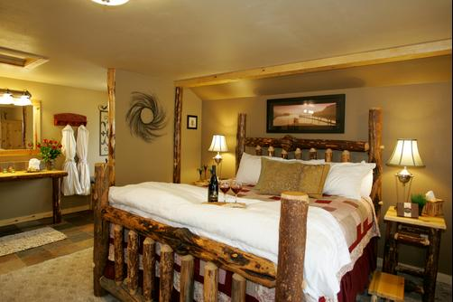Carson Ridge Private Luxury Cabins - Carson - Bedroom