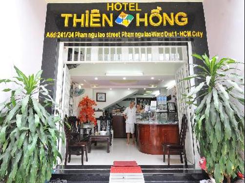 Thien Hong Guesthouse - Ho Chi Minh City - Front desk
