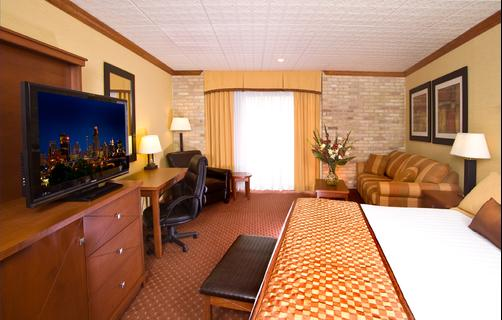 Riverwalk Plaza Hotel - San Antonio - King bedroom
