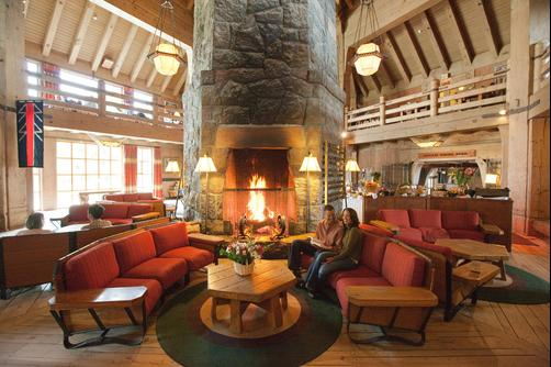 Timberline Lodge - Government Camp - Lobby