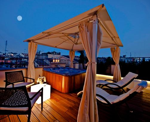 The First Luxury Art Hotel Roma - Rome - Outdoors view