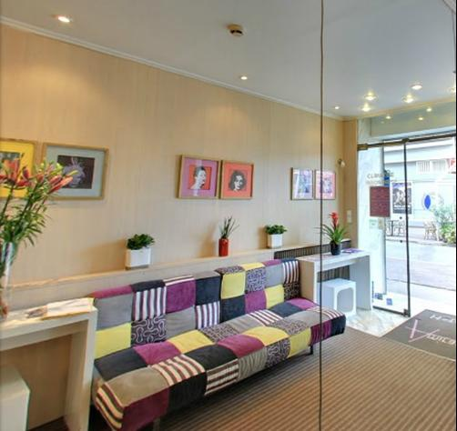 Hotel Amiraute - Cannes - Front desk