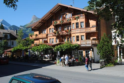 Chalet-Hotel Adler - Kandersteg - Outdoors view