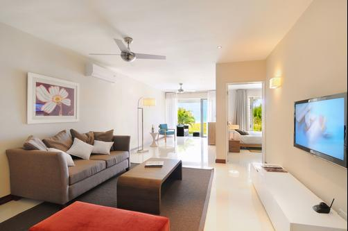 Paradise Beach Luxury Apartments - Pointe d'Esny - Living room