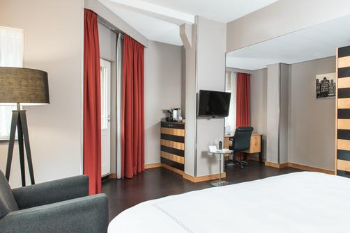 Swissotel Amsterdam - Amsterdam - King bedroom