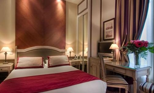 Best Western Premier Trocadero La Tour Hotel - Paris - Bedroom