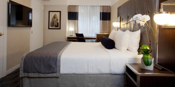 Wyndham New Yorker Hotel - New York - Bedroom