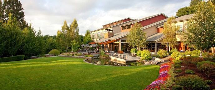 Cedarbrook Lodge - SeaTac - Building