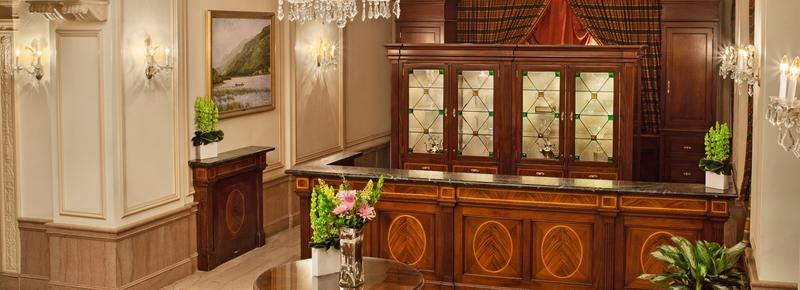 Phoenix Park Hotel - Washington - Front desk