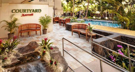 Courtyard by Marriott Waikiki Beach - Honolulu - Pool