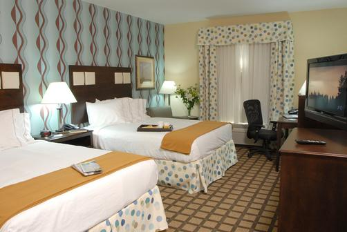Holiday Inn Express Hotel & Suites Atlanta Southwest-Fairburn - Fairburn - Queen bedroom