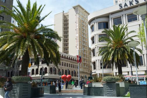 Chancellor Hotel on Union Square - San Francisco - Building