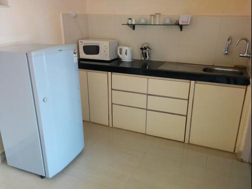 Goan Clove, Apartment Hotel - Vagator - Kitchen