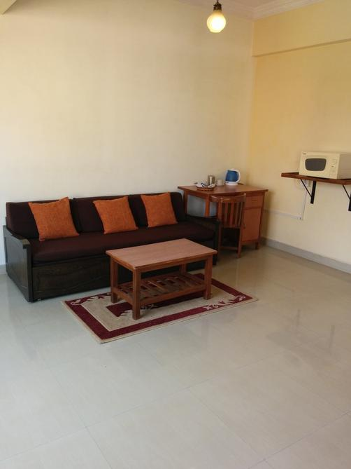 Goan Clove, Apartment Hotel - Vagator - Living room