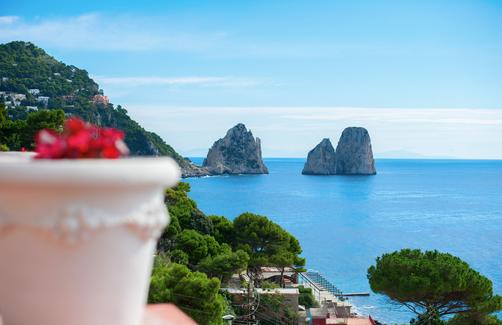 Hotel Weber Ambassador - Capri - Outdoors view