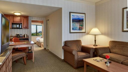 DoubleTree Suites by Hilton Phoenix - Phoenix - Bedroom