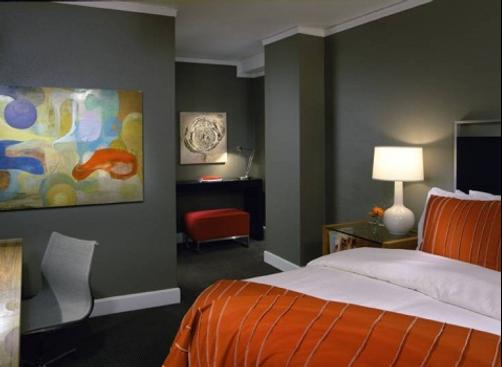 Hotel Max - Seattle - Bedroom