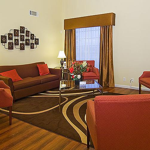 Magnuson Hotel Fossil Creek - Fort Worth - Living room