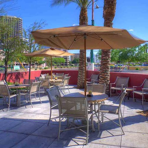 Phoenix Hotel and Suites - Phoenix - Patio