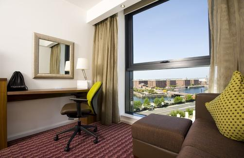 Hampton by Hilton Liverpool City Centre Hotel - Liverpool - Bedroom