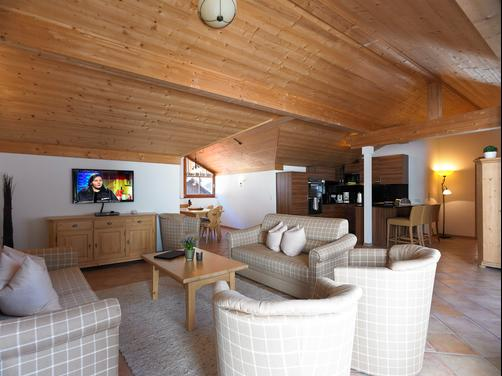 AlpinLodges Oetz - Oetz - Living room