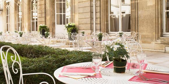 Saint James Albany Paris Hotel Spa - Paris - Patio