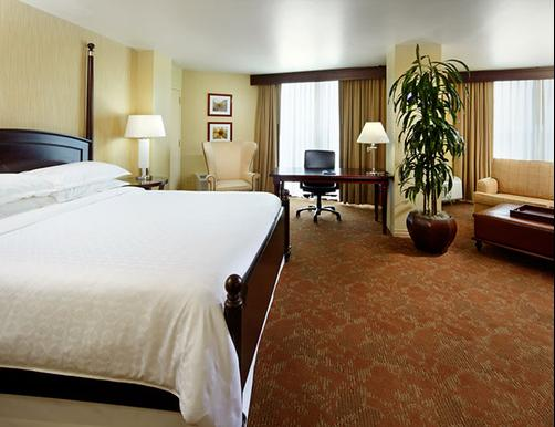 Sheraton Houston Brookhollow Hotel - Houston - Bedroom