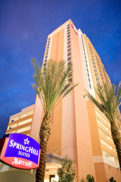 SpringHill Suites by Marriott Las Vegas Convention Center - Las Vegas - Building
