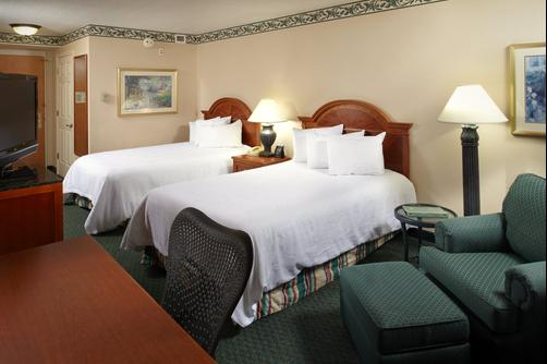 Hilton Garden Inn Tampa East/Brandon - Tampa - Queen bedroom