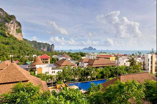 Aonang Cliff Beach Resort - Krabi - Outdoors view