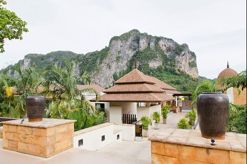 Aonang Cliff Beach Resort - Krabi - Lobby