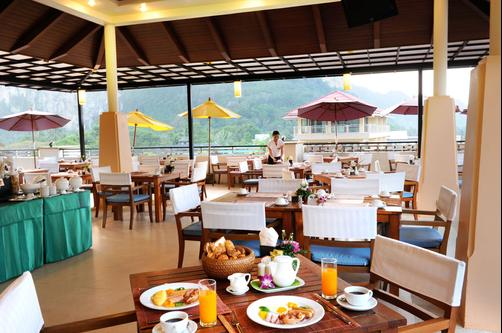 Aonang Cliff Beach Resort - Krabi - Restaurant
