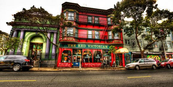 The Red Victorian - San Francisco - Building