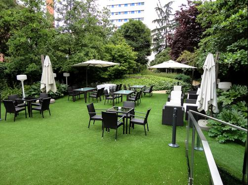 Ayre Gran Hotel Colon - Madrid - Patio