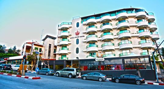 Royal Court Hotel - Ramallah - Building