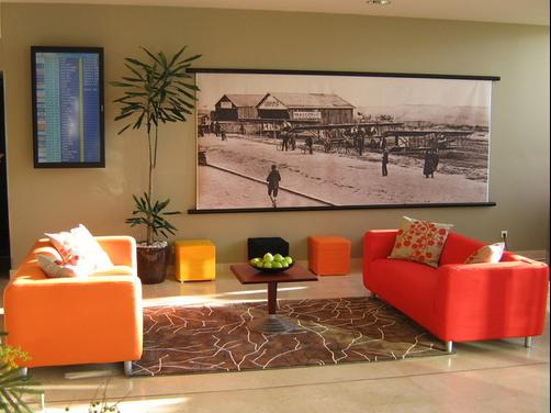 Park Inn Nice Airport - Nice - Living room