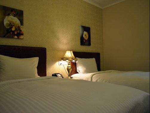 Grand Hoyah Hotel - Subic Bay Freeport Zone - Bed
