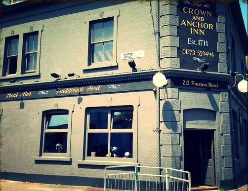 The Crown and Anchor - Brighton - Building