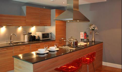 Dreamhouse Apartments London Canary Wharf - London - Kitchen