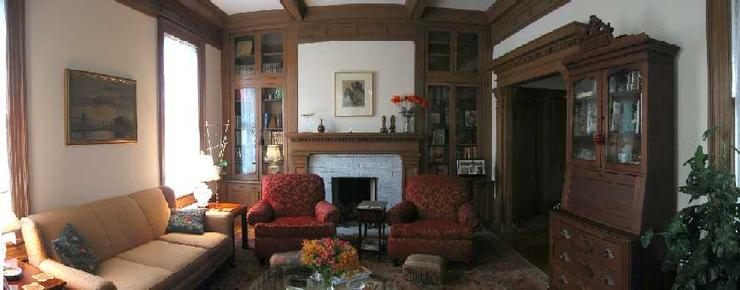Bonner Garden Bed & Breakfast - San Antonio - Living room