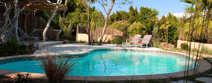 Hottentots Mountain View Guest House - Somerset West - Pool