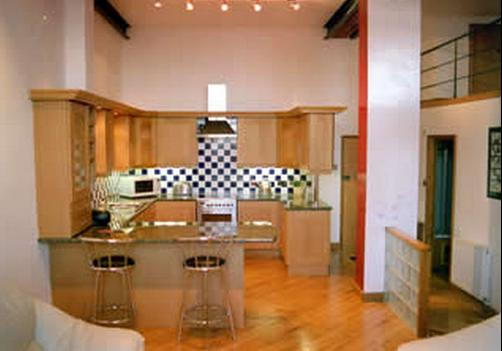 Trafalgar Warehouse Apartments - Liverpool - Kitchen