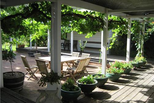 Avoca House & Cottage Accommodation - Wollombi - Patio