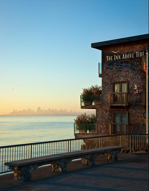 The Inn Above Tide - Sausalito - Building